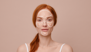What spots on different parts of the face mean