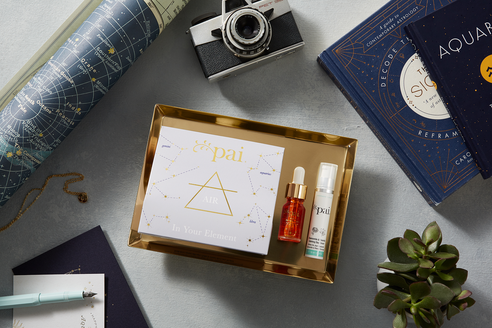 Air sign astrology gift sets