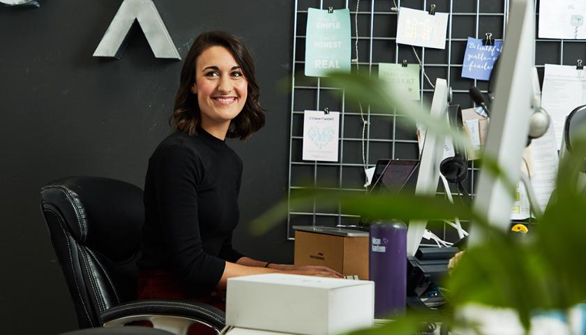 Kate Pai, chef d'équipe de l'expérience client