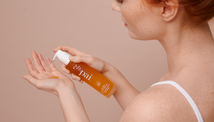 Pai Skincare Light Work Rosehip Cleansing Oil - Gentle but effective makeup removal for sensitive skin