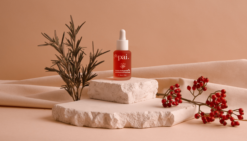 Pai Rosehip BioRegenerate Oil deeply conditions skin, improving firmness and elasticity and promoting a clear, even skin tone.