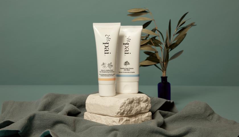Pai Skincare Kukui & Jojoba Bead Skin Brightening Exfoliator & Copaiba Deep Cleanse AHA Mask
